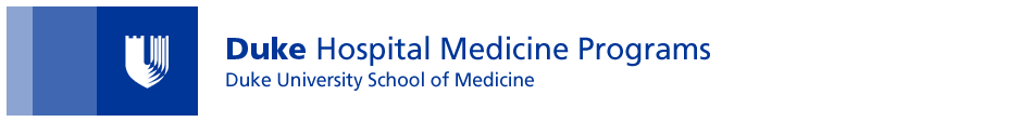 Duke Hospital Medicine Program Home Page